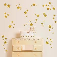 stickers étoile chambre bébé stickers etoiles or achat vente pas cher