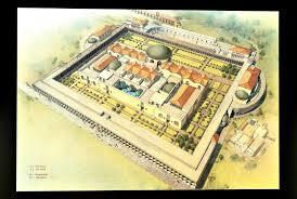 Baths Of Caracalla Floor Plan Terme Di Caracalla Spa Bath And Lunch At Al Callarello In Rome