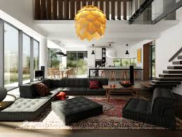 tips how to arrange an open plan apartment interior design with