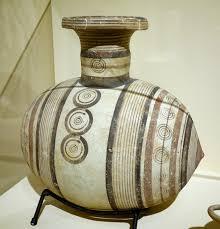Vase Shaped Jug File Barrel Shaped Jug Cyprus Cypro Archaic I 700 600 Bc