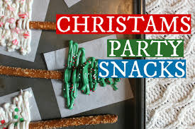 4 quick and easy christmas party snacks youtube