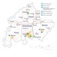 Map Of Indiana State Parks by Our Community Gibson County Economic Development Corporation