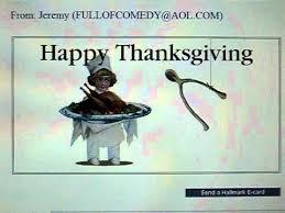 happy thanksgiving lalala