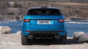 dark blue range rover land rover evoque landmark edition celebrates cuv u0027s huge success