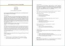 Part Resume Template Nursing Cv Template Exle Resume Free Sle