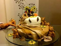 thanksgiving fondant cake