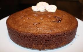 eggless chocolate walnut brownie how to make eggless cake recipe