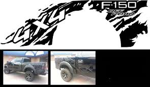 Ford Raptor Truck 2012 - product ford f 150 raptor 4x4 bed decals graphics stickers chatter