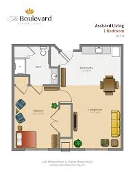 Assisted Living Facility Floor Plans by Assisted Living St Charles Assisted Living Facilities In St