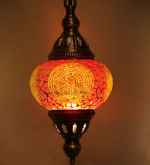 colorful l shades pendant lighting ideas top mosaic pendant light shade orange