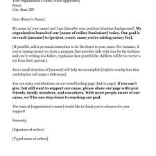 donation request letters asking for donations made easy for