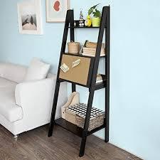 bureau echelle sobuy frg115 sch table bureau étagère murale style échelle de 3