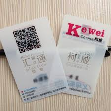 Translucent Plastic Business Cards Plastic Card Printing Machine Plastic Card Printing Machine