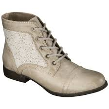 womens work boots at target s mossimo supply co kessi crochet boots taupe 34 99 at
