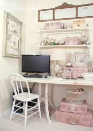 attractive shabby chic office decor shabby chic country cottage