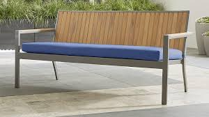 Outdoor Benches Sale 10 Great Deals From Crate U0026 Barrel U0027s Outdoor Furniture Clearance Sale