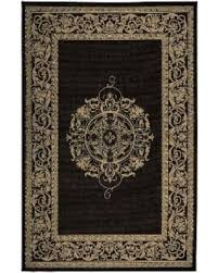 Outdoor Rugs Overstock Amazing Savings On Medallion Indoor Outdoor Rug Black 2