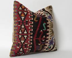kilim pillows cover etsy decorative kilim pillows handwoven wool