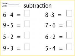 math pages to print out math worksheets subtraction free printable worksheets