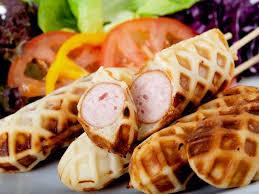 bonne cuisine rapide gaufres à la saucisse façon recette gaufres