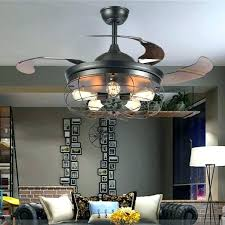 industrial style ceiling lights industrial cage ceiling fan cylinder 4 lights cage flush mount