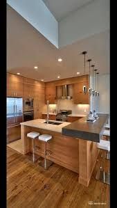 Kitchen Contemporary Cabinets Modern Gray Kitchen Features Dark Gray Flat Front Cabinets Paired