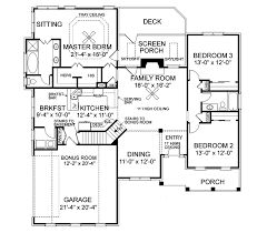 house plans and more design house plans and more ellisport ranch home plan 013d