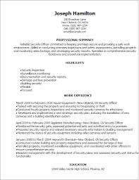 Facility Security Officer Resume Action Words Used In A Waiter Resume Best Thesis Proposal