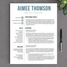 Free Contemporary Resume Templates Modern Resume Example Modern Resume Template Free Resume