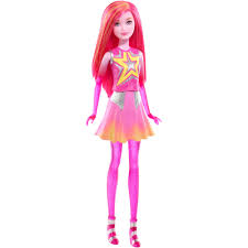 human barbie doll barbie star light adventure pink space twin doll walmart com