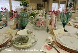 Pretty Tables by The Kitchen Catwalk Victorian Tea Tour Of Tables