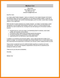 7 graphic designer cover letter job apply letter