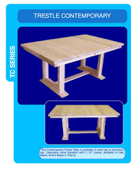 furniture home page trestle contemporary