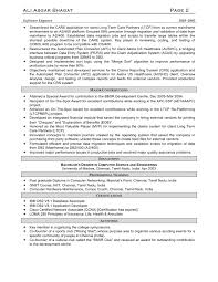 sle resume templates programmer contract template with sle resume for c net developer