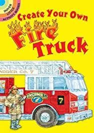 fire truck coloring book speedy publishing llc 9781681853161