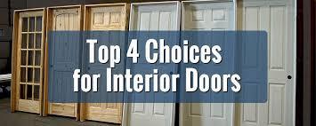 interior door styles for homes top 4 choices for interior door styles builders surplus