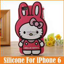fashion cute cartoon 3d kitty lovely rabbit soft silicone