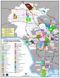 Culver City Map L A Gang Map
