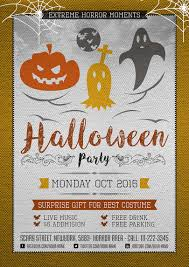 halloween drink names halloween horror party flyer template u2013 one dollar graphics