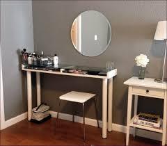 bedroom fabulous dark wood makeup vanity table vanity with chair