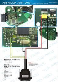 audi a6l q7 j518 module u2013 vvdi prog wiring diagram auto repair