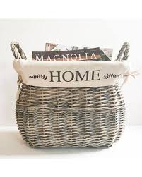 baskets for home decor new savings on home decor storage baskets farmhouse style