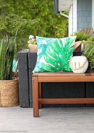 Outdoor Livingroom Our New Cozy Outdoor Living Room Tour Deck Reveal Part One