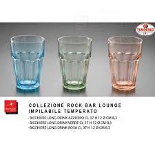 bicchieri colorati bormioli coordinato bicchieri rock bar colorati bormioli