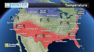 us weather map this weekend news winter forecast la niña to shape our next three months