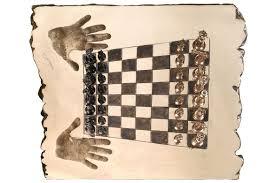 Interesting Chess Sets Chess Set Bronze Board Lorenzo Quinn