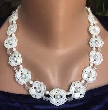 bride necklace images Flower elegant bride necklace nuritbart jpg