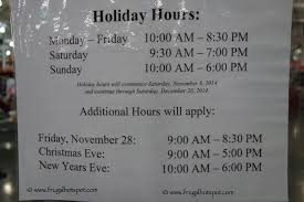 Thanksgiving Costco Hours Costco Holiday Shopping Hours 2014 Frugal Hotspot