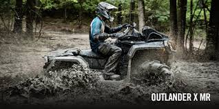 mudding four wheelers 2017 can am outlander x mr 1000r atvs springfield ohio