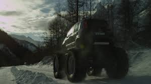 old monster truck videos panda monster truck was built by fiat on a jeep floor to star in a
